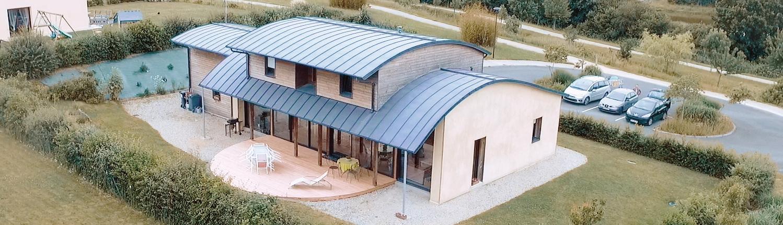 Maison individuelle bio-climatique - Maison beausoleil