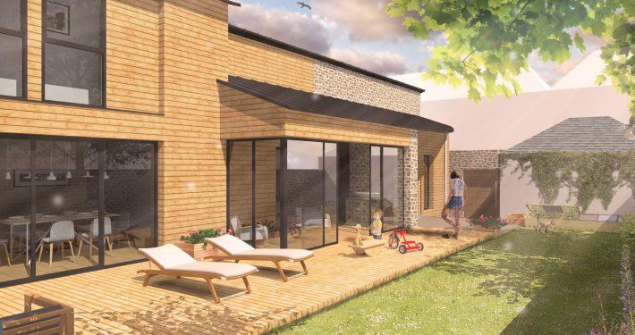 Extension et rénovation maison centre ville 53000 Laval